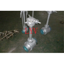 Fully Welded Stainless Steel Ball Valve with Flanged End with Welded End
