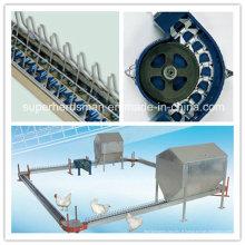 Système automatique de chaîne d'alimentation de chaîne d'éleveur de volaille