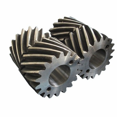 steel spiral doulbe helical gears for 3DVR
