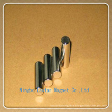 N48h Nickel Plating Cylinder Permanent NdFeB Magnet