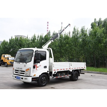 1 ton truck with crane