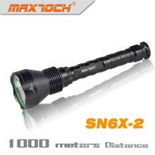 Linterna de LED al aire libre de Maxtoch SN6X-2 de largo alcance 18650