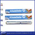 Papel de aluminio desechable de 25 pies cuadrados para uso doméstico