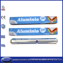 Wholesale 50m Food Grade Aluminum Foil Roll