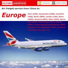 Transport aérien / fret aérien / fret aérien de la Chine vers l'Europe