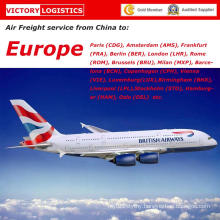 Air Cargo/Air Freight Forwarder From China to UK/Germany/Spain/France/Finland/Ireland/Croatia/Belgium