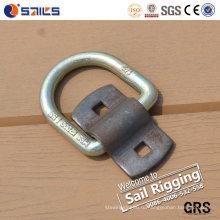 Углеродистая сталь кованые D кольцо с Wrap клип