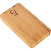 Wooden mobile power supply, wooden power bank, customized  logo 4000mAh wooden mobile phone charger
