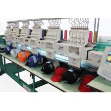 6 cabezas 9 agujas de la máquina del bordado del casquillo / de la camisa / maquinaria