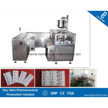 Vaginal Suppositories Production Line From Forming, Filling, Cooling, Sealing, Cutting