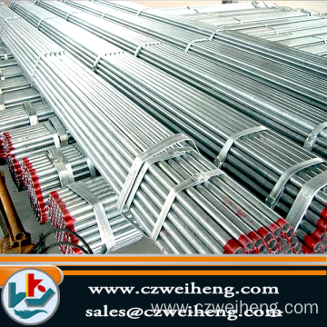 Q235/Hot dip galvanized Erw Steel Pipe