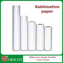 Papier de transfert de chaleur de sublimation de Digital de coût bas durable
