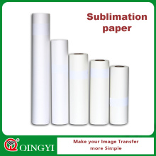 tamanho do rolo de papel da sublimação para a máquina da imprensa do calor