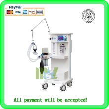 High-strength MSLGA02 Cheapest anesthesia machine price/portable ventilator machine