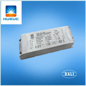 TUV Authentication DALI Dimmable 60w led driver