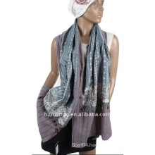 2011 latest fashion 100% cotton woman scarf