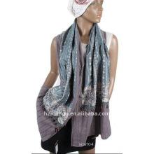 Bufanda de la mujer del algodón de la última moda 100%