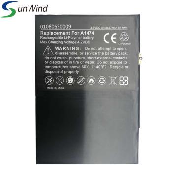 Batería de repuesto para tablet pc ipad air 5