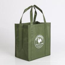 saco de compras de saco não tecido com suporte