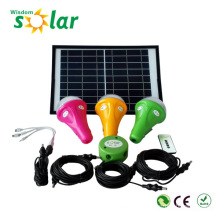 Portable led solar light system for home/indoor/outdoor/camping emergency lighting