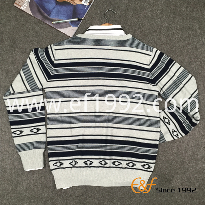 Hot Selling Fashion Strip Men Sweater