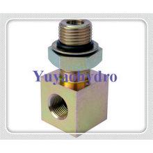 Bloc d'adaptateur de filetage hydraulique spécial