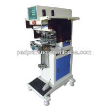 Venda quente, Hengjin máquinas de impressão HP-160BY pneumatic 2 cores pad impressora com copo de tinta
