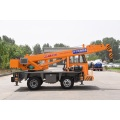 5 ton small crane tire crane