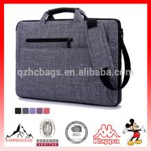 Bolso elegante de la bolsa de mensajero del ordenador portátil, del ordenador portátil y de la tableta para viajar, negocio, universidad y oficina