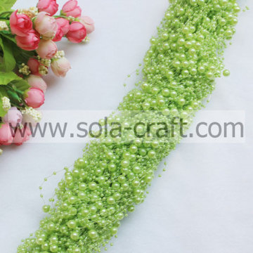 Alta qualità Faux Pearl Beaded stringa Garland con 3 + perline