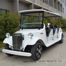 Low Speed Vehicle 8 Seats City Tour Electric Classic Vintage Car