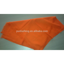 Mercerized wool scarf-Solid color