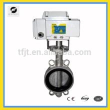CTB-010 válvula de mariposa del motor UPVC para calefacción por suelo radiante, sistema de riego