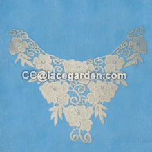 Embroidery Chemical Cotton Lace Motive