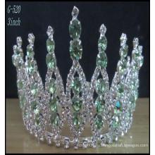 Оптовые свадебные серебряные украшения Тиара дети принцесса