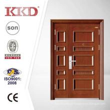 Uma e meia de segurança Exterior de aço porta KKD-523B