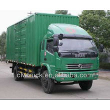low price dongfeng 9tons van truck for sale,4x2 china mini van truck