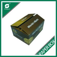 Boîte de papier de mur de double de haute qualité d'usine pour l'emballage de noix