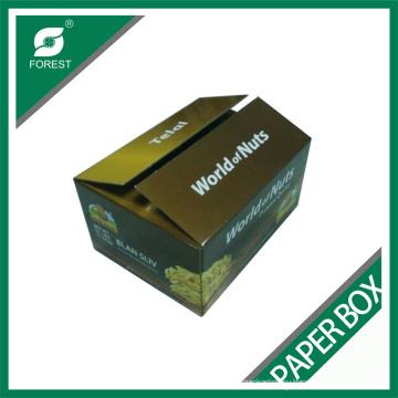 Завод высокое качество двойной стенкой бумажные коробки для Nuts упаковывать