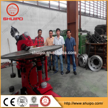 dish end press machine steel oval tank head flanging machine