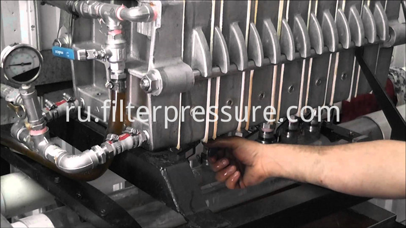 Stainless Filter Press