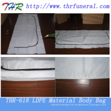 LDPE Material mit C Type Zipper Körperbeutel