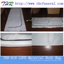 Материал LDPE с мешком тела застежки -молнии типа C