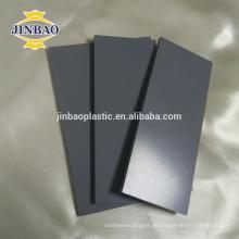 JINBAO hochwertige benutzerdefinierte kunststoff starre pvc blatt aus china lieferant