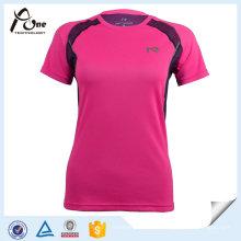 Großhandelsfrauen-ursprüngliches kühles trockenes T-Shirt Sportswear