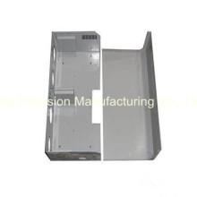Peça de fabricação de chapa metálica com corte a laser