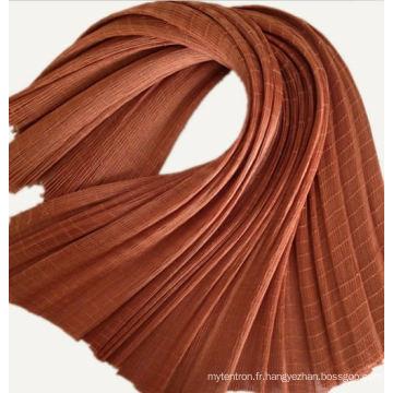 Tissu de corde de pneu de polyester de catégorie de B