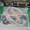automatic electronic continuous band food aluminum foil plastic paper bag pouch heat seal sealer sealing machine manufacturer