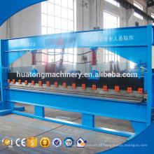 Máquina de dobra de revestimento de alumínio para chapas de alumínio High Tech