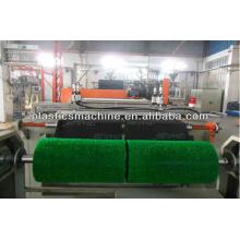 High quality plastic mat roll machine